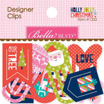 Bella Blvd - Holly Jolly Christmas Collection - Designer Clips