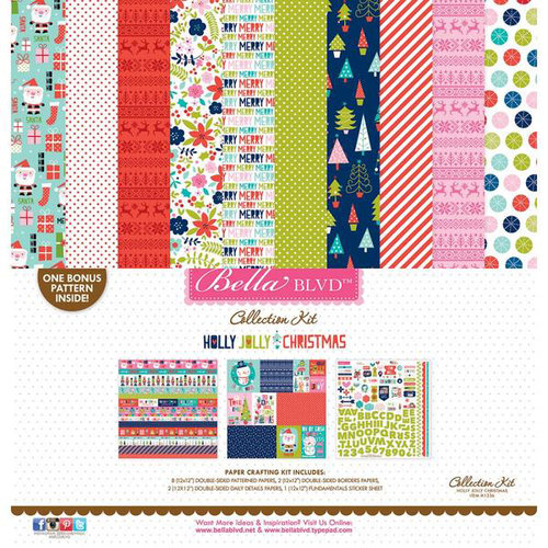 Bella Blvd - Holly Jolly Christmas Collection - 12 x 12 Collection Kit