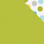 Bella Blvd - Oh My Stars Collection - 12 x 12 Double Sided Paper - Pickle Juice Stars