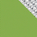 Bella Blvd - Oh My Stars Collection - 12 x 12 Double Sided Paper - Guacamole Stars