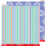 Bella Blvd - Hello Beautiful Collection - 12 x 12 Double Sided Paper - Sky's the Limit