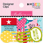 Bella Blvd - Oh My Stars Collection - Designer Clips - Colorful