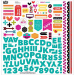 Bella Blvd - Illustrated Faith - Bright and Brave Collection - 12 x 12 Cardstock Stickers - Fundamentals