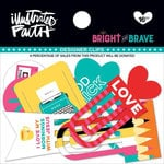 Bella Blvd - Illustrated Faith - Bright and Brave Collection - Designer Clips