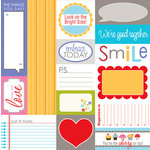 Bella Blvd - Hello Beautiful Collection - 12 x 12 Cardstock Stickers - Bella Blurbs, CLEARANCE