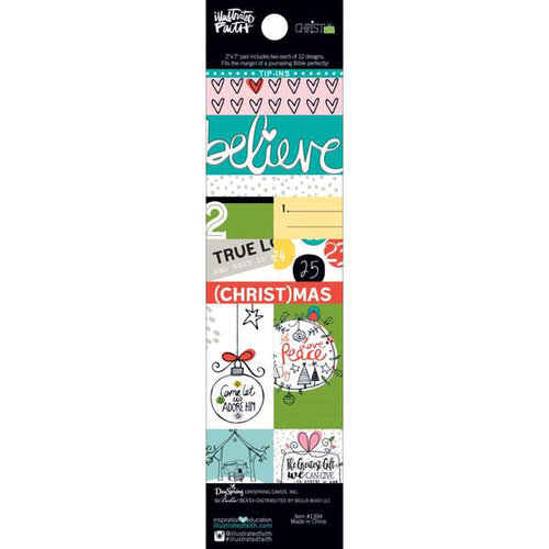 Bella Blvd - Illustrated Faith - CHRISTmas Collection - Tip-Ins Pad