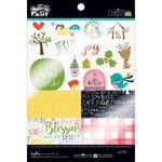 Bella Blvd - Illustrated Faith - CHRISTmas Collection - 6 x 8 Clear Cuts Pad
