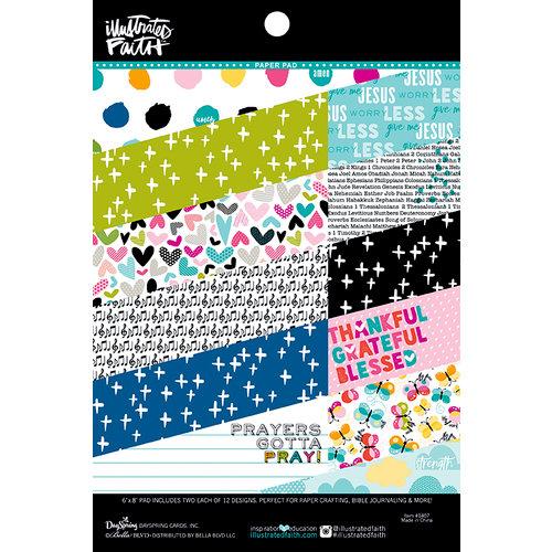 Bella Blvd - Illustrated Faith - Basics Collection - 6 x 8 Paper Pad