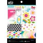 Bella Blvd - Illustrated Faith - Basics Collection - 6 x 8 Clear Cuts Pad - Geo