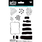 Bella Blvd - Illustrated Faith - Basics Collection - Clear Acrylic Stamps - Elements