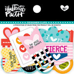 Bella Blvd - Illustrated Faith - Basics Collection - Designer Clips - Hearts