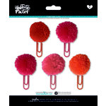 Bella Blvd - Illustrated Faith - Basics Collection - Pom Pom Clips - Apple of My Eye Mix