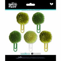 Bella Blvd - Illustrated Faith - Basics Collection - Pom Pom Clips - Olive You Mix