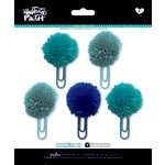 Bella Blvd - Illustrated Faith - Basics Collection - Pom Pom Clips - Oh My Heavens Mix