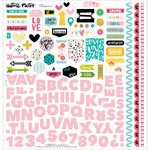 Bella Blvd - Illustrated Faith - You are Loved Collection - 12 x 12 Cardstock Stickers - Fundamentals
