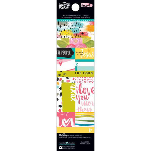 Bella Blvd - Illustrated Faith - You are Loved Collection - Tip-Ins Pad