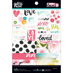 Bella Blvd - Illustrated Faith - You are Loved Collection - 6 x 8 Clear Cuts Pad