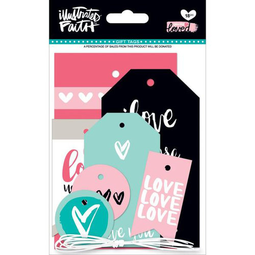 Bella Blvd - Illustrated Faith - You are Loved Collection - Gift Tags