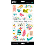 Bella Blvd - Illustrated Faith - Seeds of Faith Collection - Cardstock Stickers - Elements