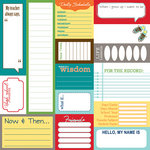 Bella Blvd - Midterm Collection - 12 x 12 Cardstock Stickers - Bella Blurbs, CLEARANCE