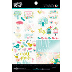 Bella Blvd - Illustrated Faith - Seeds of Faith Collection - 6 x 8 Clear Cuts Pad