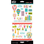 Bella Blvd - Illustrated Faith - Delight in His Day Collection - Cardstock Stickers - Elements