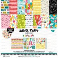 Bella Blvd - Illustrated Faith - Delight in His Day Collection - 12 x 12 Collection Kit