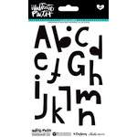 Bella Blvd - Illustrated Faith - Basics Collection - Clear Acrylic Stamps - Homespun Alphabet