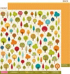 Bella Blvd - One Fall Day Collection - 12 x 12 Double Sided Paper - Country Fields