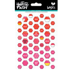 Bella Blvd - Illustrated Faith - Epoxy Stickers - Mini Hexies - Apple of My Eye Mix