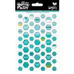 Bella Blvd - Illustrated Faith - Epoxy Stickers - Mini Hexies - Oh My Heavens Mix