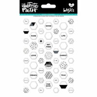 Bella Blvd - Illustrated Faith - Epoxy Stickers - Mini Hexies - Hey Sugar Sugar Mix