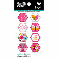 Bella Blvd - Illustrated Faith - Epoxy Stickers - Hexies - One in a Melon