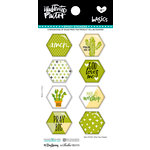 Bella Blvd - Illustrated Faith - Epoxy Stickers - Hexies - Olive You