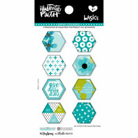 Bella Blvd - Illustrated Faith - Epoxy Stickers - Hexies - Oh My Heavens