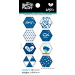 Bella Blvd - Illustrated Faith - Epoxy Stickers - Hexies - Mrs. Blueberry