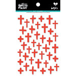 Bella Blvd - Illustrated Faith - Puffy Stickers - Crosses - Apple of My Eye