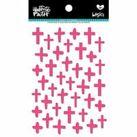 Bella Blvd - Illustrated Faith - Puffy Stickers - Crosses - One in a Melon