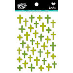 Bella Blvd - Illustrated Faith - Puffy Stickers - Crosses - Olive You Mix
