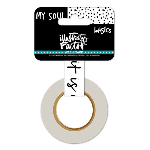 Bella Blvd - Illustrated Faith - Washi Tape - Well With My Soul