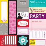 Bella Blvd - Socialite Collection - 12 x 12 Cardstock Stickers - Bella Blurbs