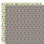 Bella Blvd - Tail Waggers and Cat Naps Collection - 12 x 12 Double Sided Paper - Paws and Claws
