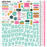 Bella Blvd - Illustrated Faith - Gratitude Documented Collection - 12 x 12 Cardstock Stickers - Fundamentals