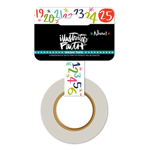Bella Blvd - Illustrated Faith - Advent Collection - Christmas - Washi Tape - Christmas Countdown
