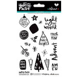Bella Blvd - Illustrated Faith - Advent Collection - Christmas - Clear Acrylic Stamps