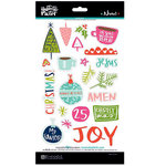 Bella Blvd - Illustrated Faith - Advent Collection - Christmas - Chipboard Stickers - Icons