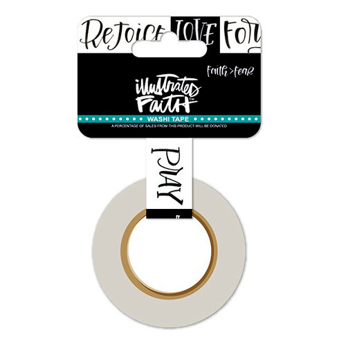 Bella Blvd - Illustrated Faith - Faith Over Fear Collection - Washi Tape - Trust and Love