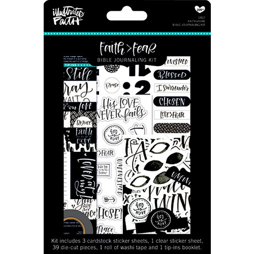 Bella Blvd - Illustrated Faith - Faith Over Fear Collection - Bible Journaling Kit