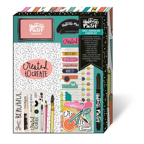 Bella Blvd - Illustrated Faith - Basics Collection - Created to Create Starter Kit