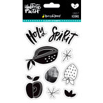 Bella Blvd - Illustrated Faith - Fruit of the Spirit Collection - Clear Acrylic Stamps - Icons
